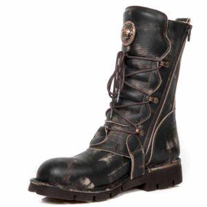 Vintage Raspado Marron Boots