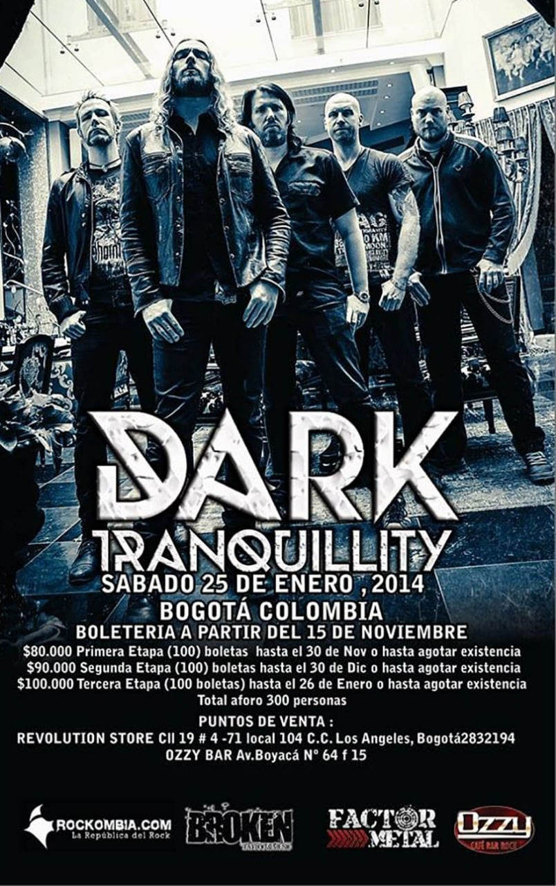 Dark Tranquillity Memorable Performance at Festival Rock al Parque