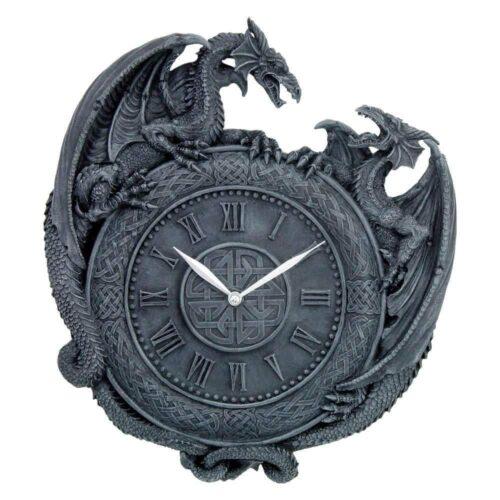 Dragon Duel Clock
