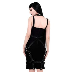 Locked Away Midi Dress
