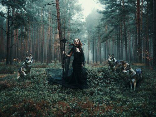 The Seventeenth-Century Witch's Devilish Attributes