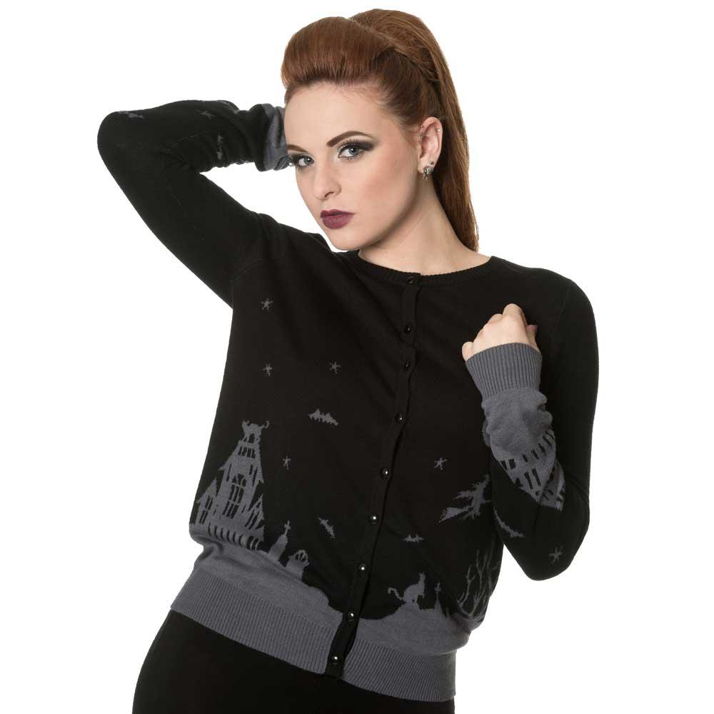 Dark Skyline Knitted Cardigan