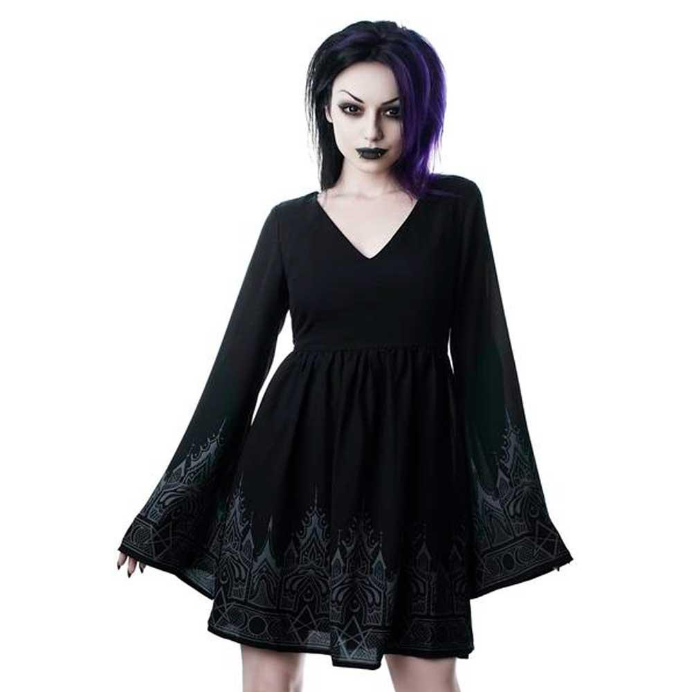 Duchess Mourning Short Dress