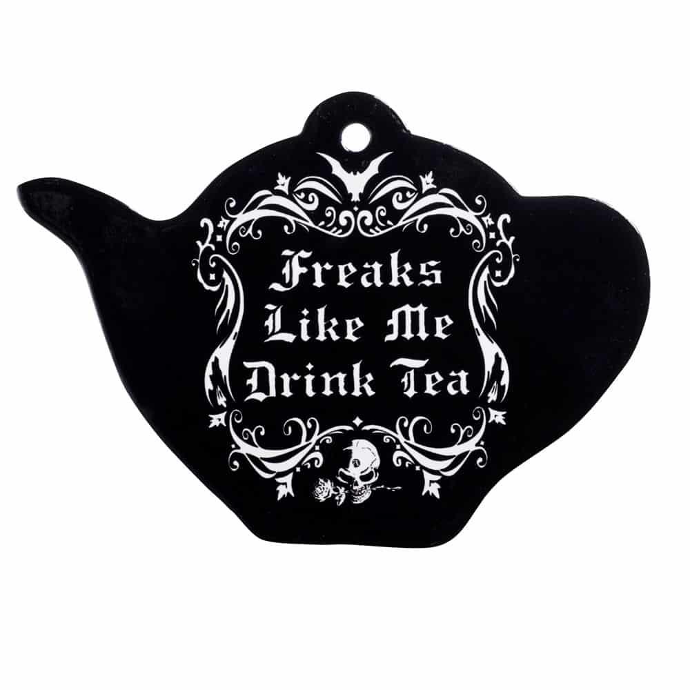 Freaks Like Me Tea Pot Trivet