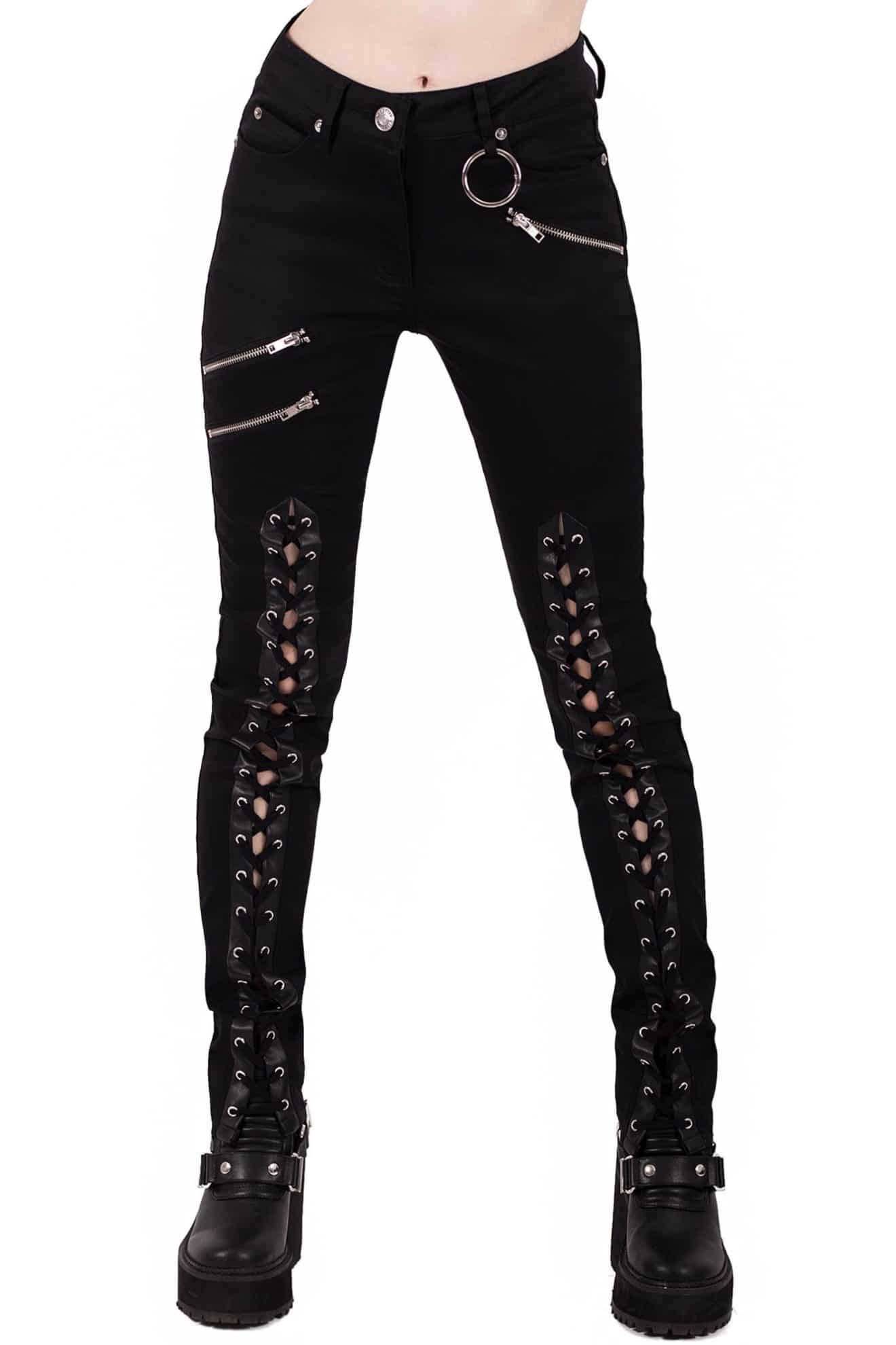 Mazzy Lace-Up Trousers