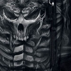 Skull Armour Backpack