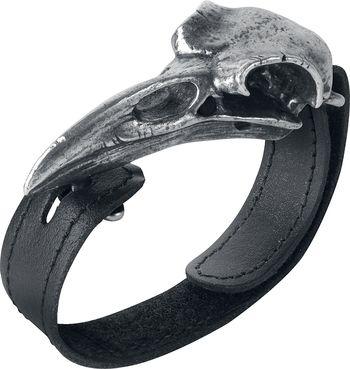 Raven Skull Bracelet