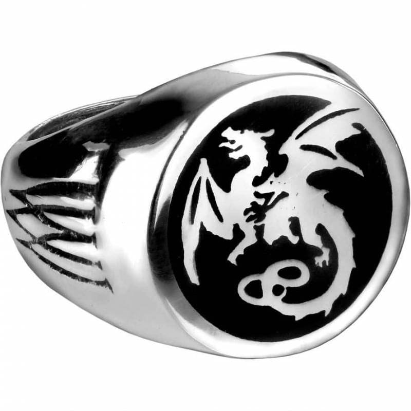 Wyverex Dragon Signet Ring