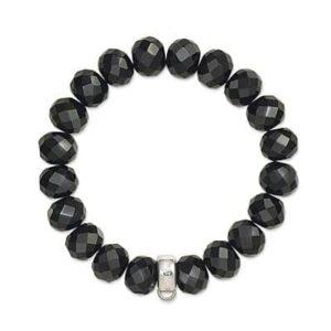 Charm Club Obsidian Bracelet