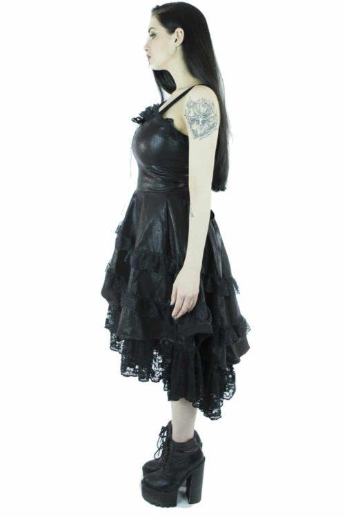 Eliza Strap and Lace Dress
