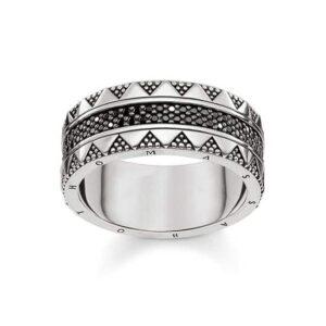 Hieroglyphs Ornamentation Ring