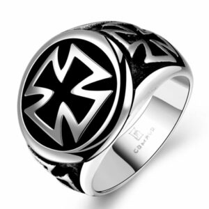 Knights Templar Cross Ring
