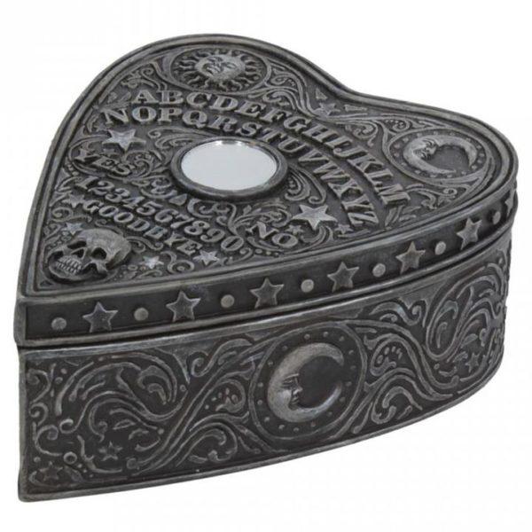 Ouija Board Planchette Trinket Box