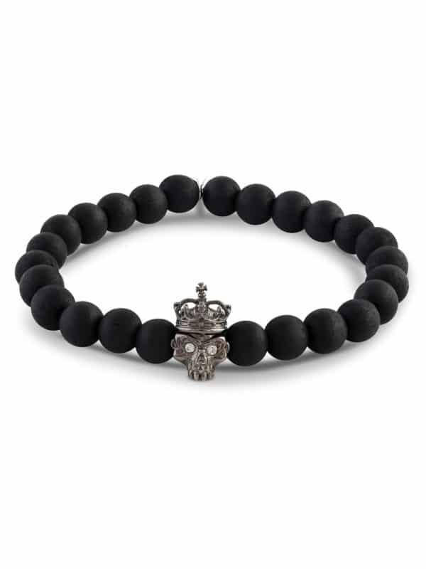 Skull Bead Bracelet
