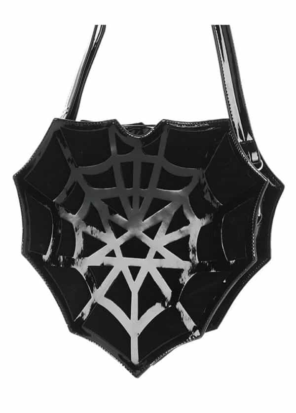 Spiderweb Heart Bag