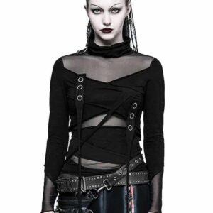 Brute Black Gothic Top