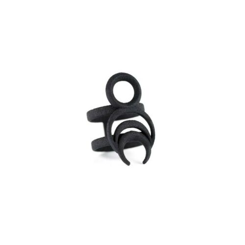 Chronos Ring in Black