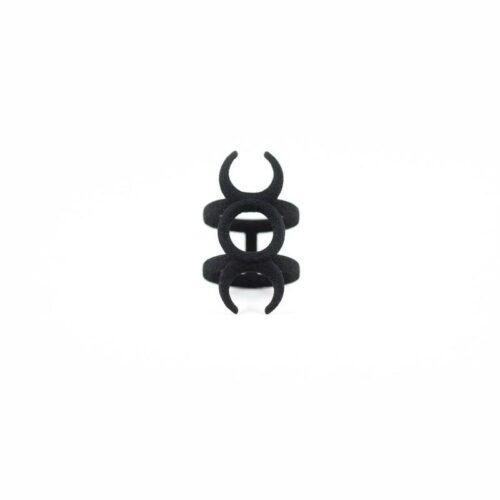 Hecate Midi Ring in Black