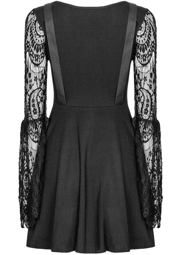 Noira Gothic Dress Back Detail