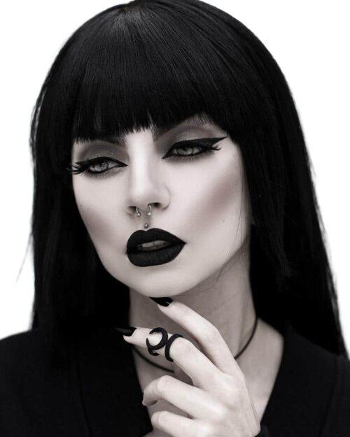 Occult Midi Ring in Black
