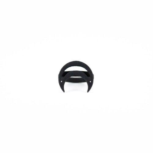 Rhea Ring in Black