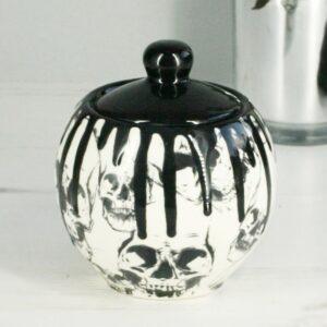 Skull Drip Sugar Pot