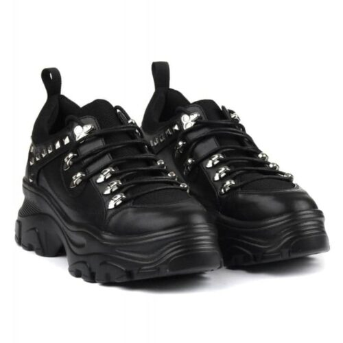 Synth Studded Chunky Trainers