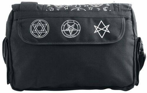 pentagram shoulder bag back