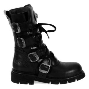 Black Comfort Light Calf Boots