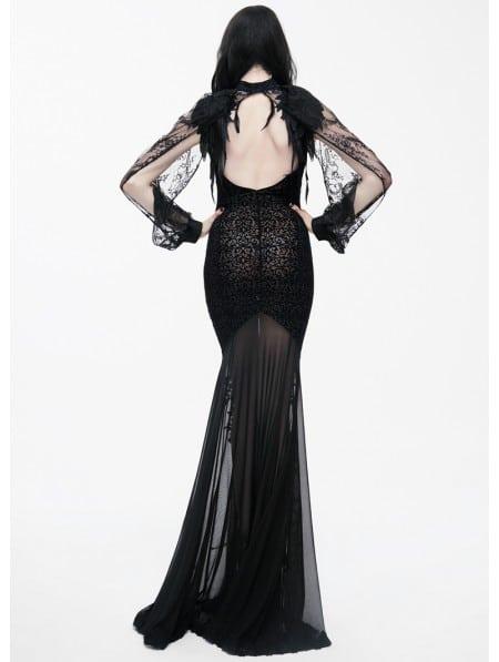 Black Gothic Lace Cape