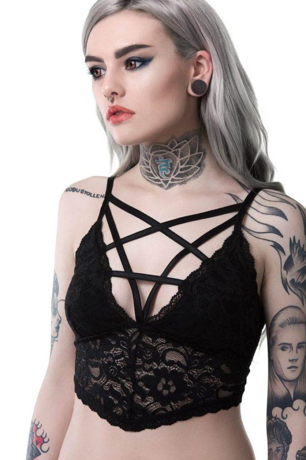 Noctra Lace-delic Bralet
