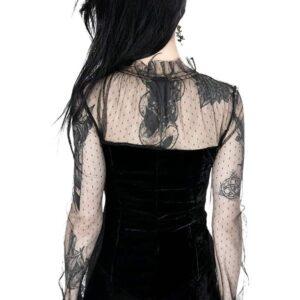 Retro Queen Gothic Blouse