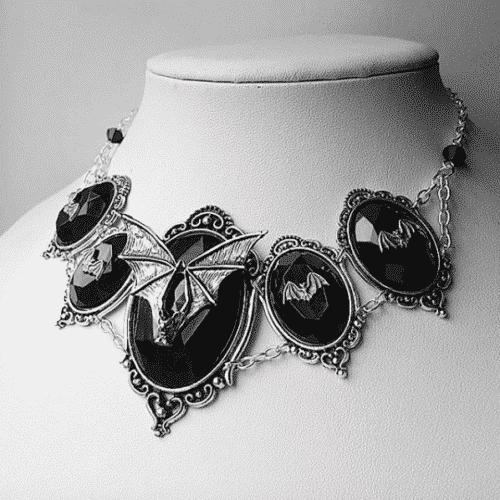 Bat Enchantress Necklace