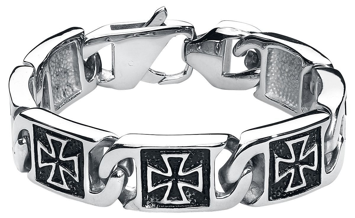Iron Cross Bracelet