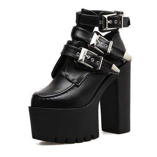 laura ankle boots sided