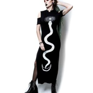Serpent Oracle Long Dress