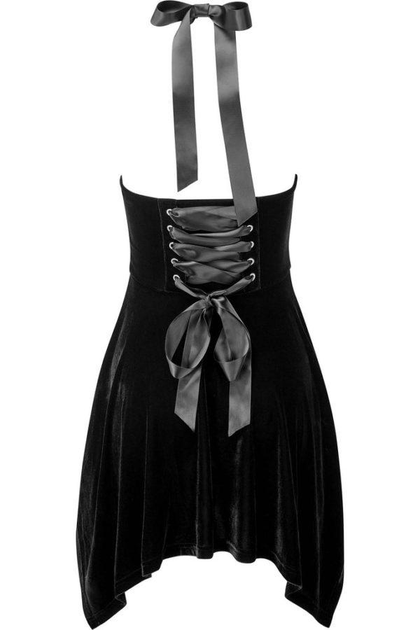 Zarya Velvet Dress