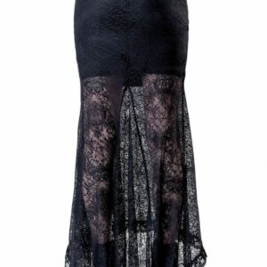 Venus Lace Maxi Skirt