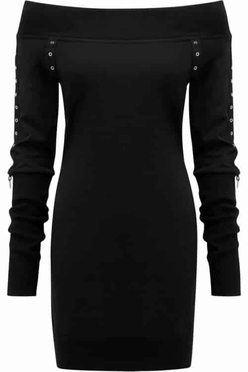 Wicked Riffs Sweater Dress