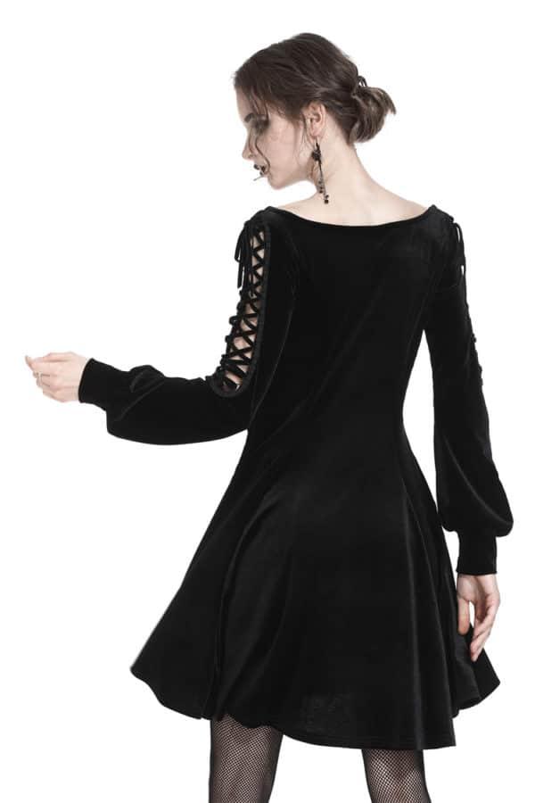 Dark Innocence Mini Dress