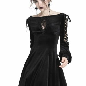 Dark Innocence Mini Dress