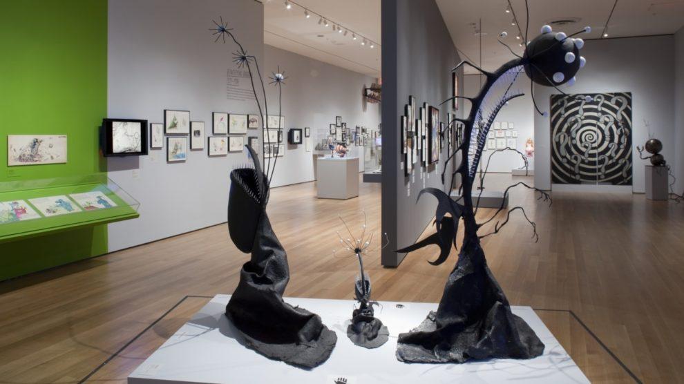 Introduction to Tim Burton's Advancement of Dark Gothic Art