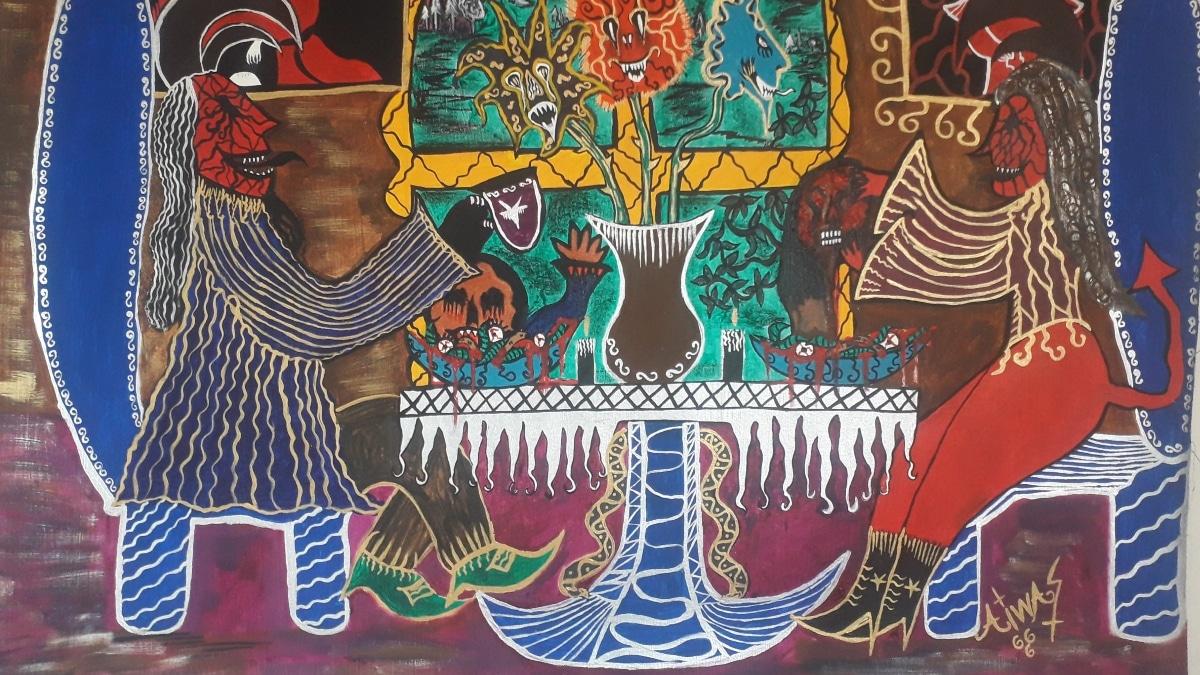 Cali Presents the Pictorial Exhibition 'Ritual Macabro al Daimonismo'