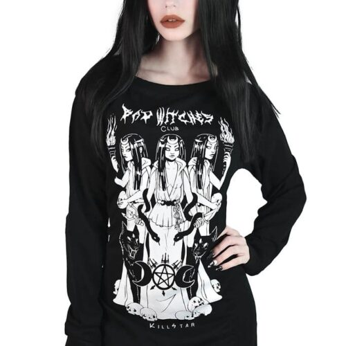 Bad Witches Club Sweater Dress