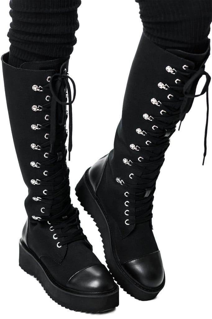 Despair Combat Boots