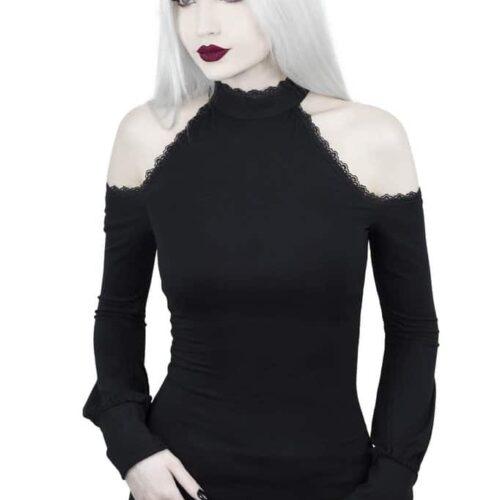 Kassandra Cold Shoulder Top