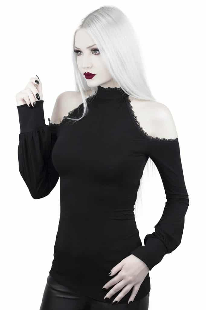 Kassandra Cold Shoulder Top