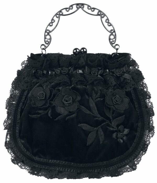 Leaves and Roses Handbag