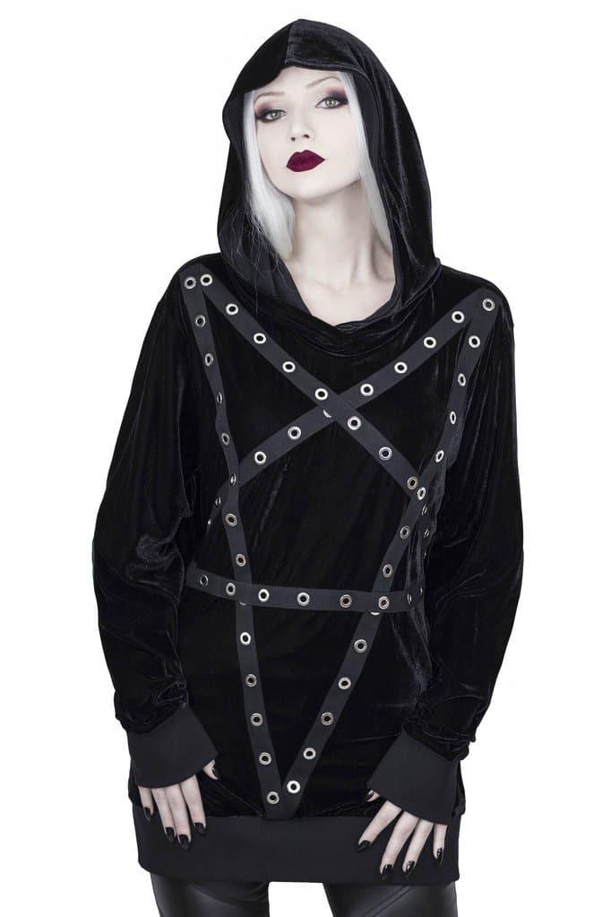 Wicca Velvet Hoodie