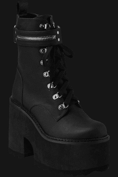 Overhead Platform Boots